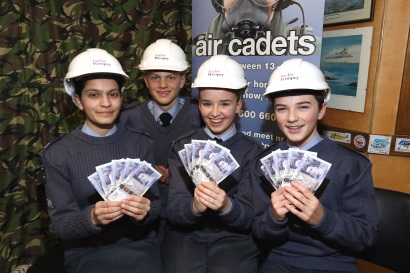 Image 2 - Taylor Wimpey - Community Chest Winners - 1113 Berkhamsted Squadron ATC